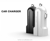Usams Micro Auto Universal Dual 2 Port Car Charger 2.1a 1a for Iphone 5/6 for IPAD for Ipod Mini Chargers Adapter / Cigar Socket