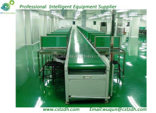 power drive logistics belt assembly conveyor line