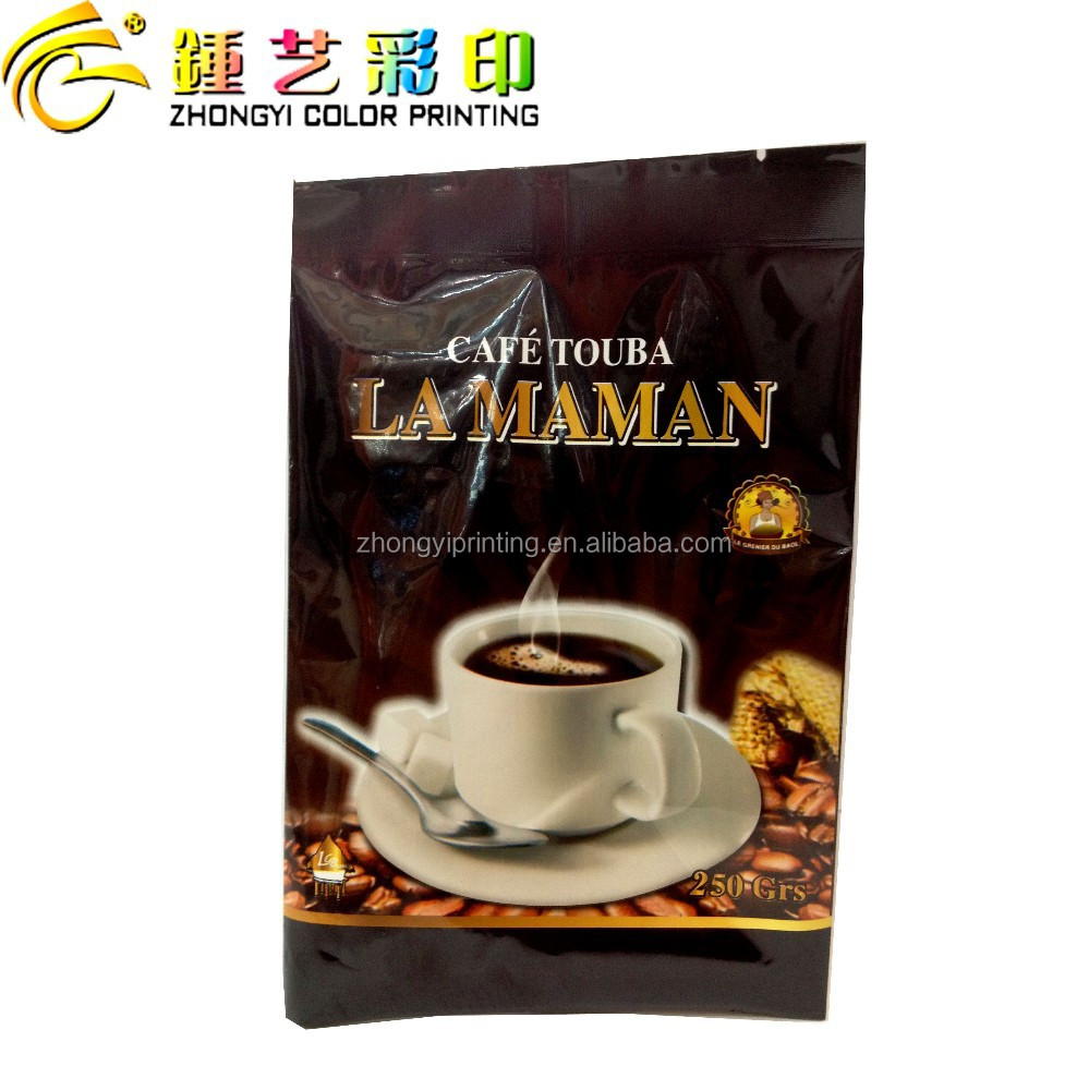 Guangdong Zhongyi printing&packing coffee packaging bags with easy tear,mini coffee bag