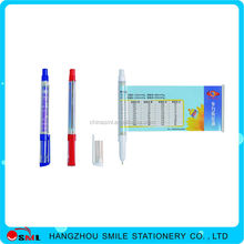Small Fast Selling Items plastic promotional thick ballpoint pen