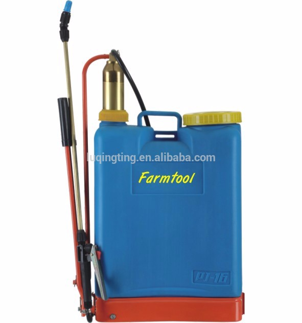 LQT 16L Knapsack Agricultural Manual Sprayer with single copper pump