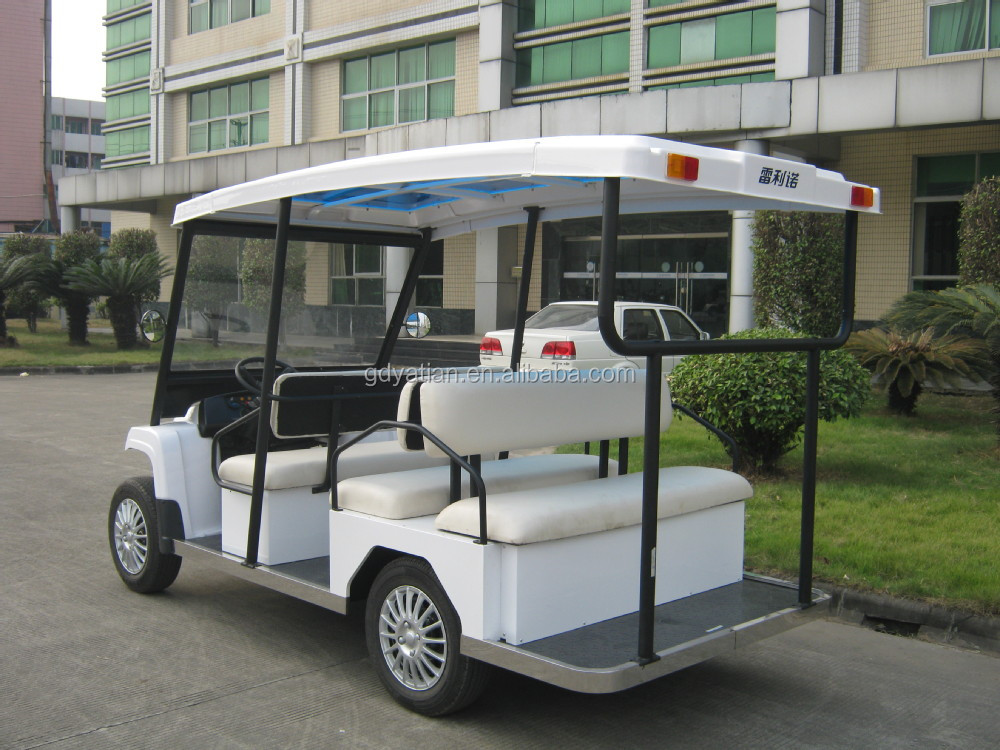 Unique model DC motor splendid electric passenger transport vehicle