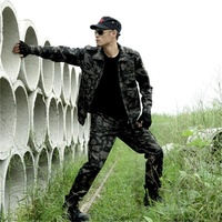Wholesale army uniform jungle camouflage clothing men camouflage suit military suit clothes made in china