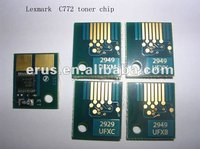 For Lexmark C772 cartridge chip