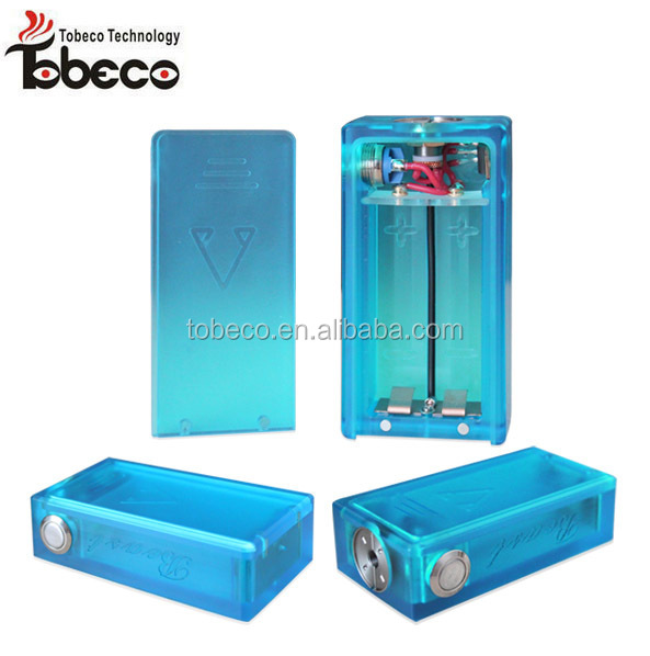 2015 popular hot selling box mod from Tobeco wood box mod ABS box mod with best quality best price box mod fit 18650 battery
