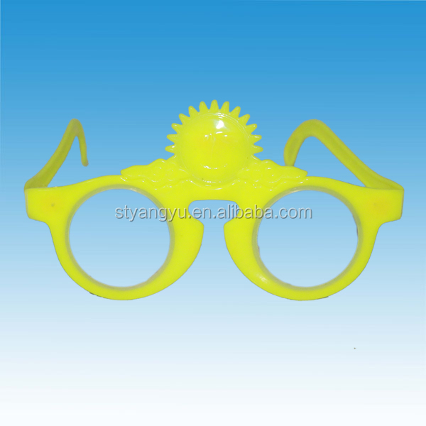 Children Plastic Cute Glasses Toy Candy