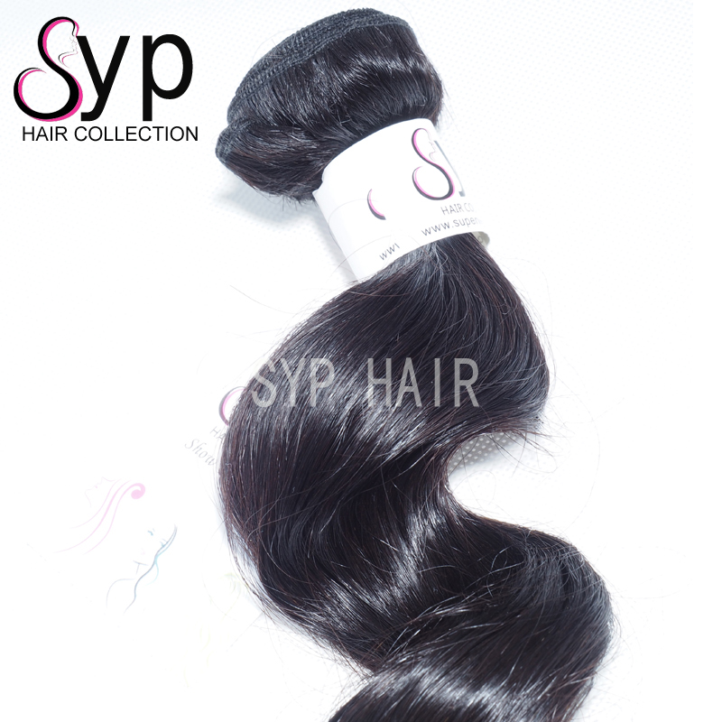 Indian Cuticle Aligned Steamed Virgin Remy Hair Weave 100g For One Pack Natural Extensions