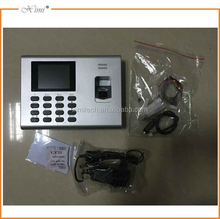 Free software color screen K40 fingerprint time attendance and access control with built in battery optional IC or ID card