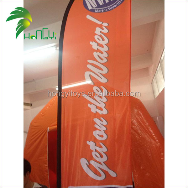 Promotional Feather Flags , Banner Flags Custom