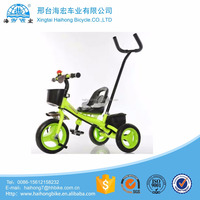 Xingtai cargo children tricycle bikes /hot sale kids three wheel bicycle