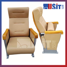 2016 high-end level new design auditorium chair for conference