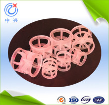 plastic packing pall ring for scrubber media
