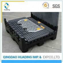 plastic stackable vegetable storage pallet box containers for sale