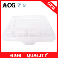airline food use conductive plastic tray for microwave oven