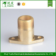 Brass Parts Reducing Flange Threaded Adapter