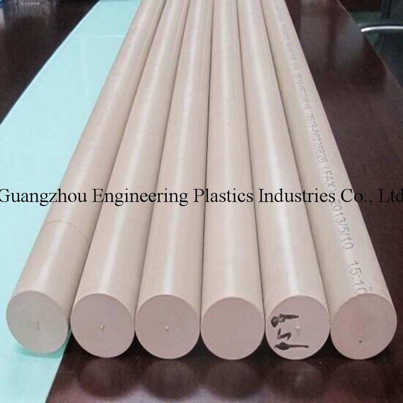 Heat-resistance hard plastic PEEK rod