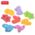 zhorya set of 8 eva floating baby bath toy