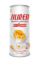 vegetable portein drink walnut almond juice 240ml canned soft drink