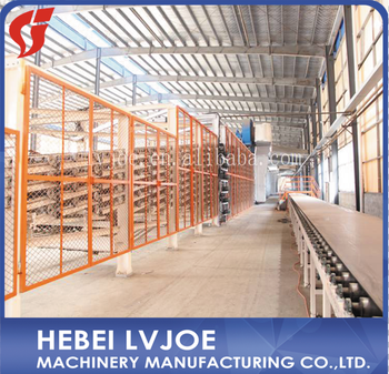 Small Scale Gypsum/Plaster/Plaster of Paris/Gesso Wall Board Production Line