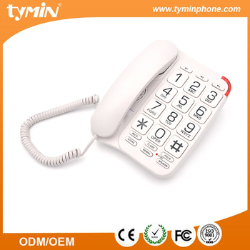 Tymin new version speaker amplified large button seniors phone (TM-PA027)