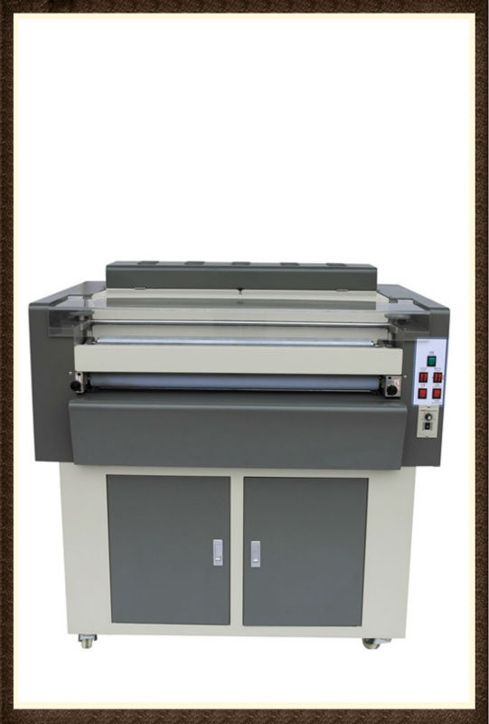 24 inches high-speed Multi-roller UV embossing machine for photo