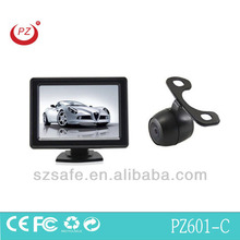 good selling parking rearview detector with dash board monitor 4.3inch and wide angle camera easy connect