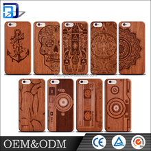 2016 newest MOQ=1 waterproof cell phone wood mobile case for iphone 5 5s 6 / 6s 7 case