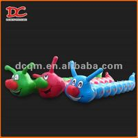 Popular Colorful Funny PVC Water Floating Inflatable Caterpillar
