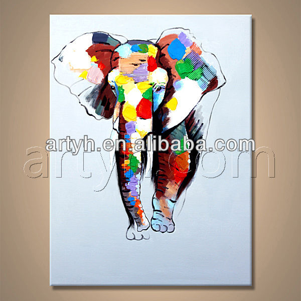 Attractive New Handmade Elephant Picture For Decor