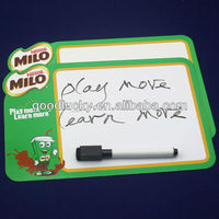 Nestle MILO--Promotion fridge magnet writing board(with pen)