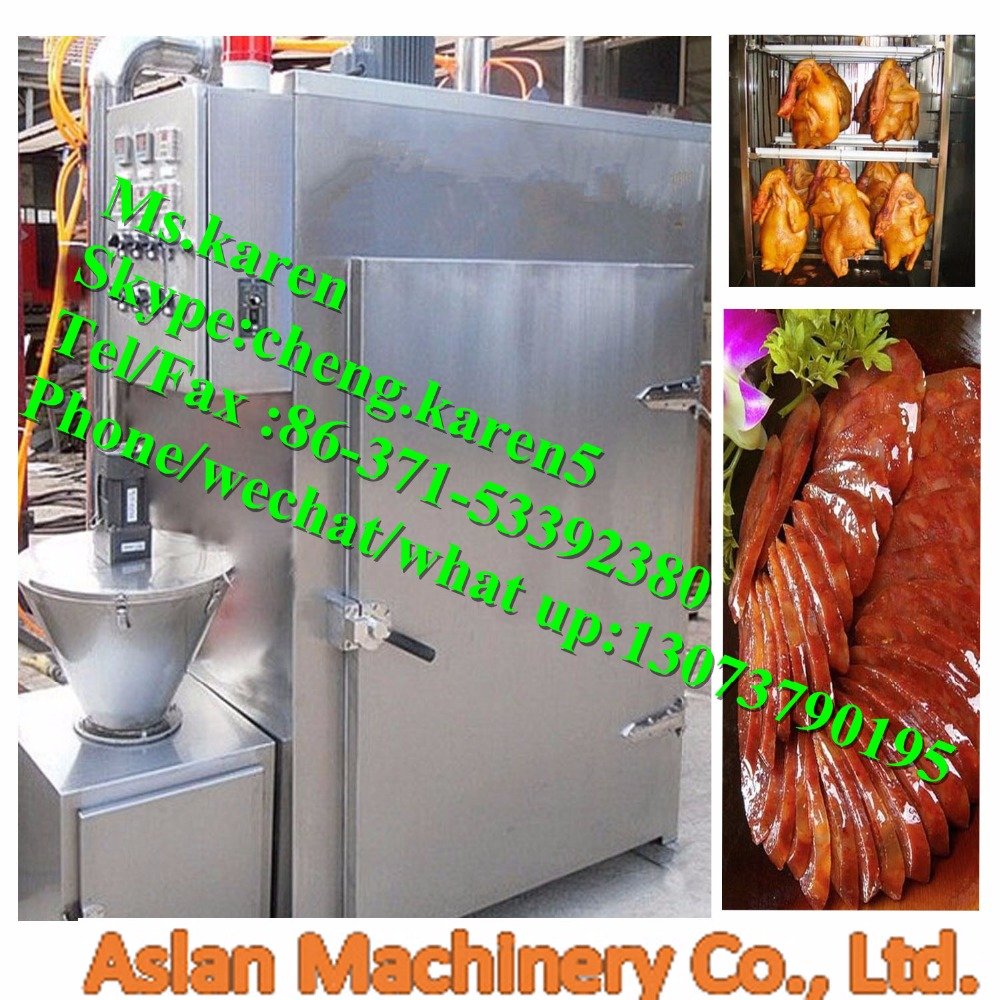 High temperature Beef jerky Smoked furnace / Automatic fumigation furnace / Meat smoke house