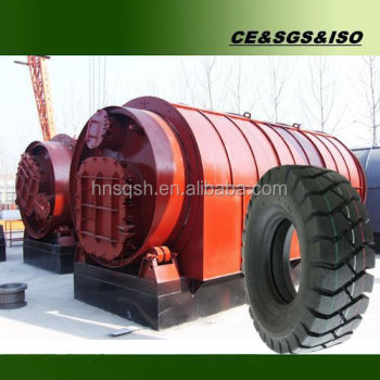 Engineers oversea crude oil extraction pyrolysis tire recycling system
