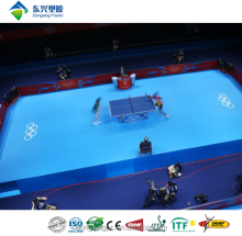 vinyl table tennis court flooring