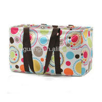 2014 Hot Large Tote Canvas Shopping Laundry Storage Bag