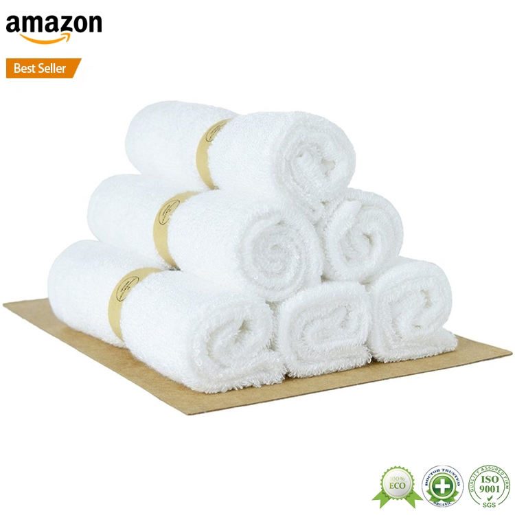 New product custom bamboo home facecloths, organic bamboo fabric face towel