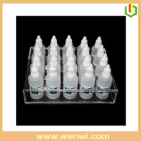 Transparent Acrylic Perfume Bottle Display Stand