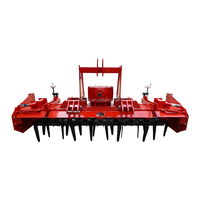 2015 China super quality adjustable depth tractor heavy duty rotary harrow for sale