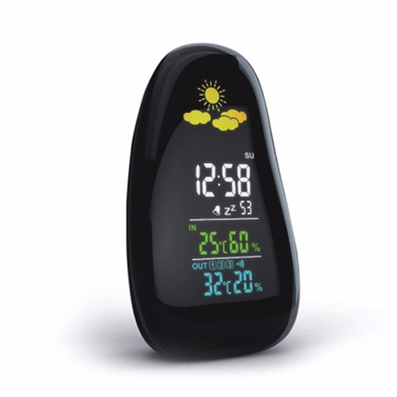 large display wireless with time forecast clock