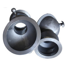 China Customize Resin Sand Casting Ductile Iron Pipe Fitting
