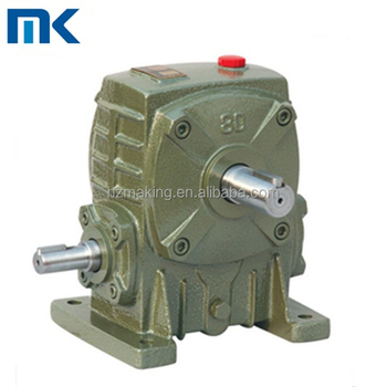 WP series WPA cast iron industrial use electric motor speed reducer