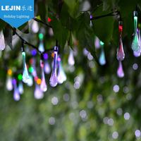 reseller 2AA holiday led drops battery string light for decoration