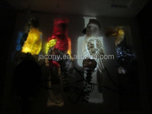 Solar Lighted Jungle Birds Stake Lights (JL-7811)