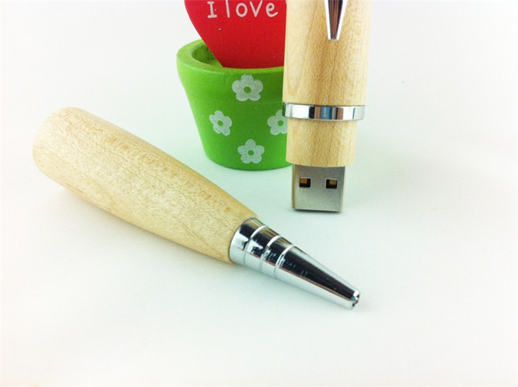 Wholesale China custom design memory flash drive wood novelty usb stick