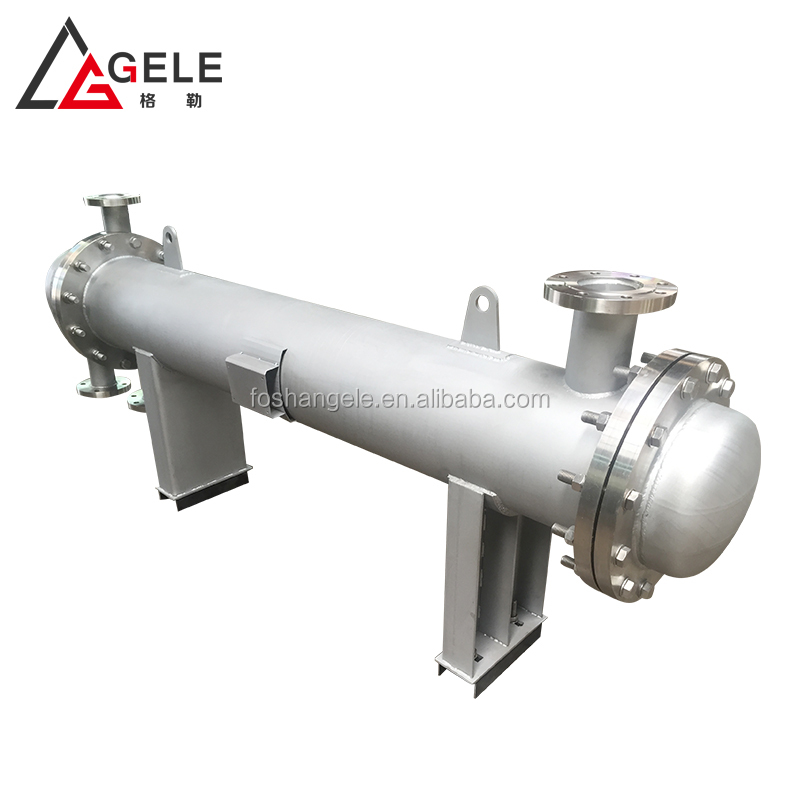 Industry sanitary stainless steel pipeline type heat exchanger for cooling
