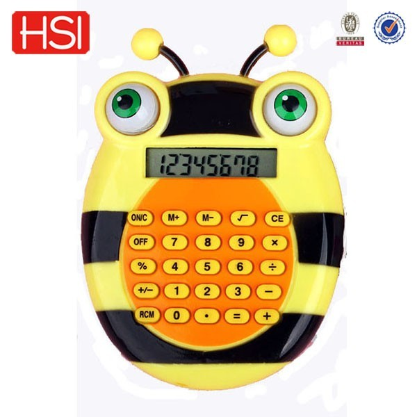 stationery battery charged electronic led backlight calculator