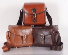 New Arrival Retro Style Leather Digital Camera Bag,Fashion Women's DSLR Camera Bag