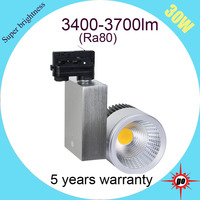 30W LED cob track light spotlight CE approved for fashionable clothes shop