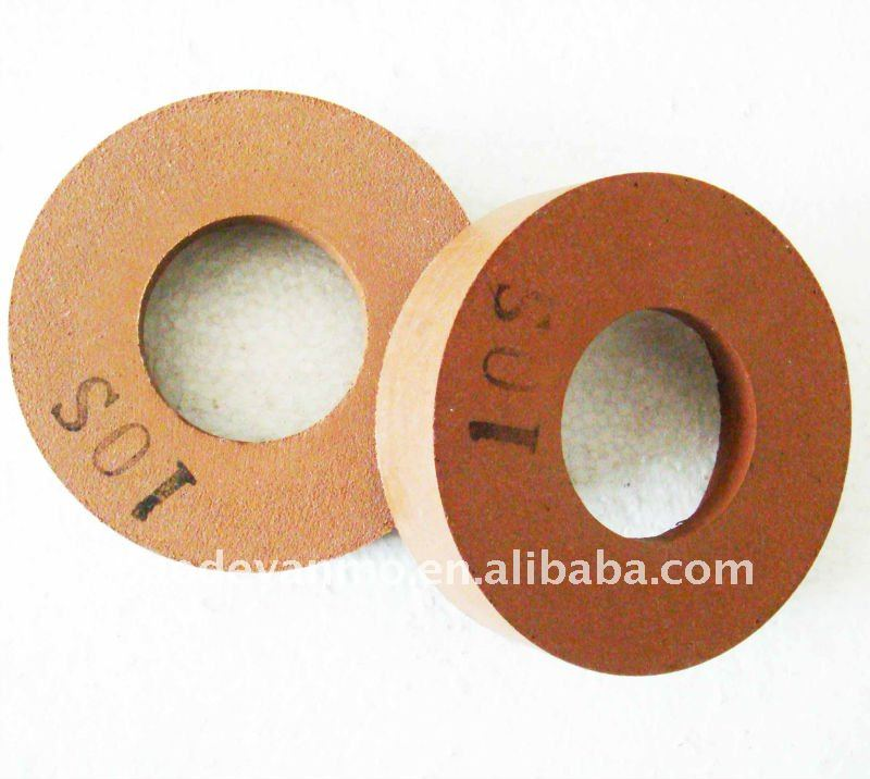 Resin bond glass edge polishing grinding wheel