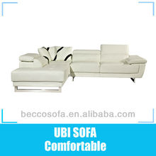 Italy real leather corner lounge suite MY039