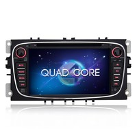 7 inch quad core Android 5.1.1 android car dvd player with CAN-BUS for ford mondeo c-max s-max 2007-2010